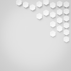 hexagonal shapes background