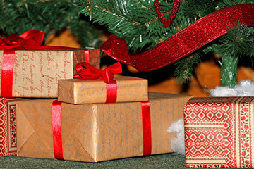 packed Christmas gifts for Christmas