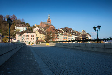 Laufenburg, Germany, seen from the bridge
