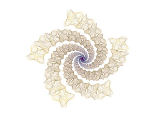 surreal futuristic digital 3d design art abstract background fractal illustration for meditation and decoration wallpaper