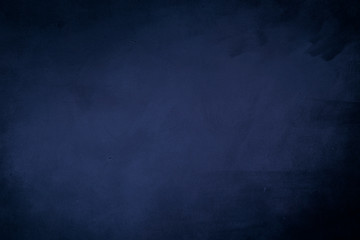 Dark blue grungy background or texture