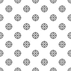 Maritime radar aim pattern seamless vector repeat geometric for any web design