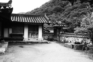 a korean house