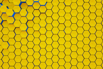 hexagonal shapes background