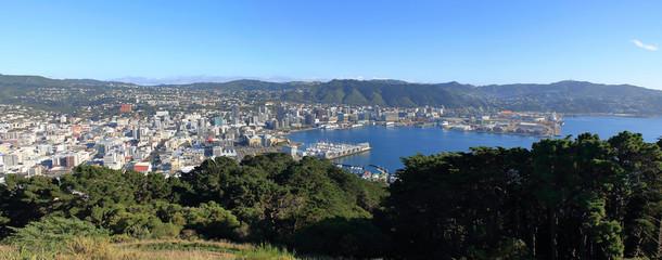 Panorama of Wellington, New Zealand