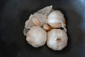 Garlic with cloves