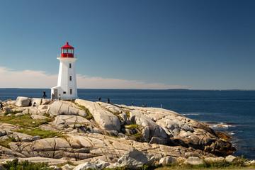 Peggy's Cove Lighthouse Fototapete