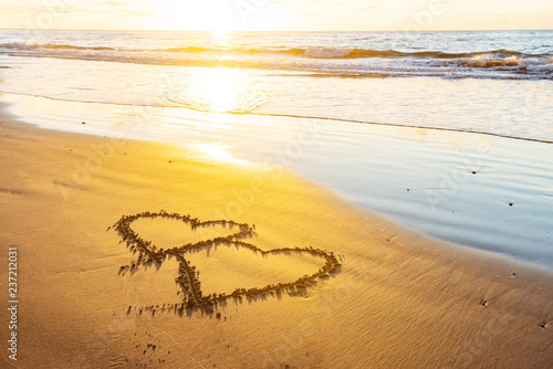 Valentines Day On Beach Stock Photo And Royalty Free Images On