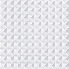 White Seamless Triangular Pattern Background . Isolated Vector Elements