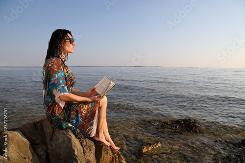 585b6246e3f Hobby And Leisure-Woman Enjoying Her Summer Vacation
