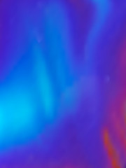 Vector holography foil rainbow iridescent texture. For fantasy and fashion print in blue and purple bright colors