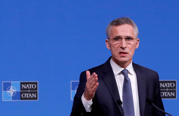 NATO foreign ministers meeting in Brussels
