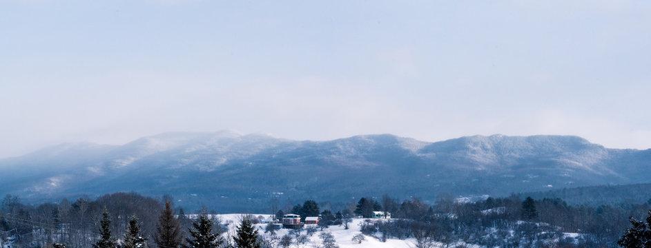 Waterbury, Vermont Panorama