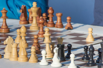 chess game, a game for the development of intelligence