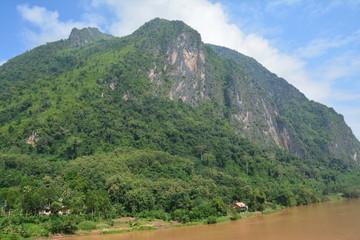 Paysages Nong Khiaw Village Laos