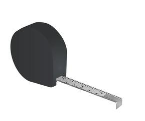 Measure tape. vector illustration