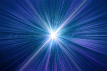 Abstract Shining Light Time Wormhole Background