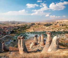 Cappadocia, Turkey. Rock Mushroom