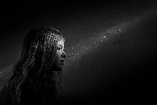 Portrait, Licht, Schatten