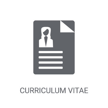 Curriculum vitae icon. Trendy Curriculum vitae logo concept on white background from Human Resources collection