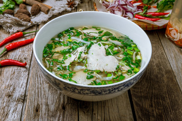 Vietnamese soup Pho GA