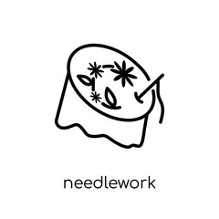 Needlework icon from Sew collection.