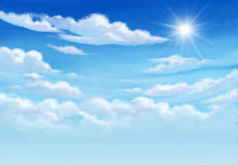 Blue sky so very beautiful daylight.