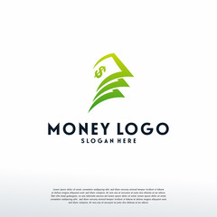 Money Logo designs template vector, Finance logo designs vector, Logo symbol icon
