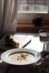 Horseraddish soup