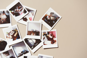 Instant pictures of workplace