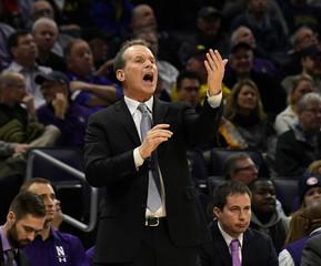 NCAA Basketball: Michigan at Northwestern
