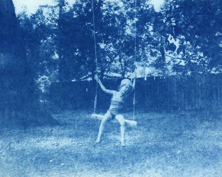 Backyard Swinging