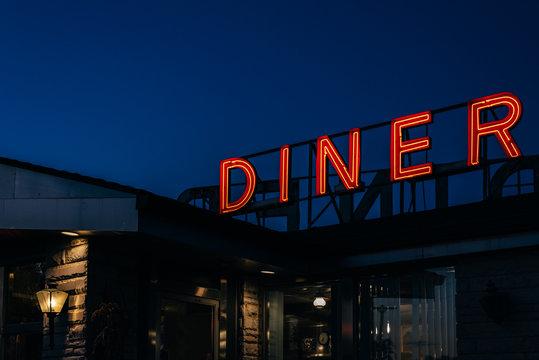 old-fashioned diner