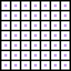 Seamless Pattern Purple Square