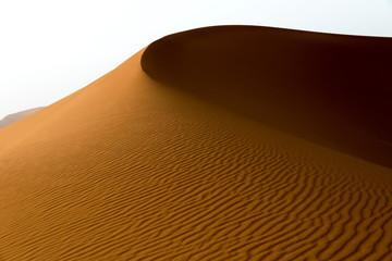 Beautiful dune at sunset