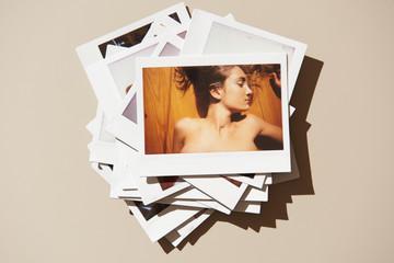 Stack of sensual woman shots