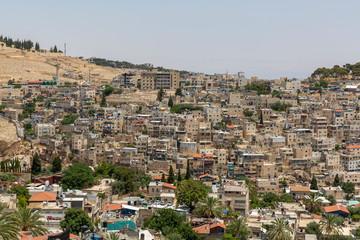 Buildings in the Valley in East Jerusalem