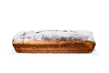 Freshly baked sweet cake