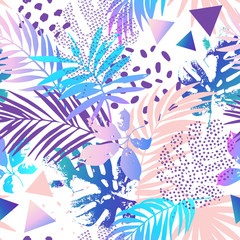 Creative gradient seamless pattern.