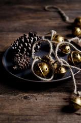 pinecones and bells