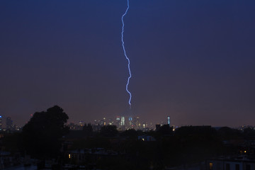 Lightning Strike New York