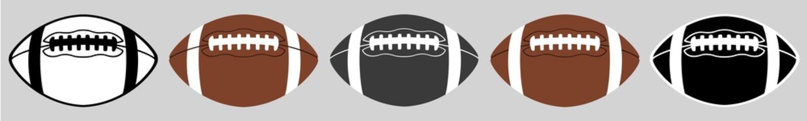 American Football | Ball | Emblem | Logo | Variations Fotomurales