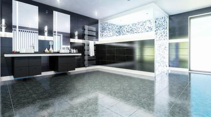 Luxurious Bathroom (design)