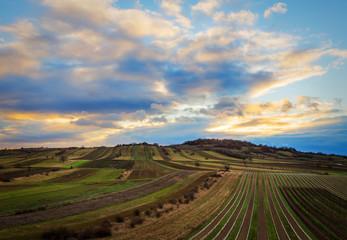 Dramatic Landscape at location Goldberg in Burgenland