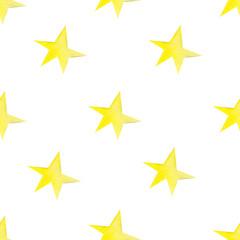 Seamlesswatercolor star pattern