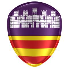 Balearic islands flag icon
