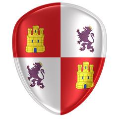 Castilla Leon flag icon