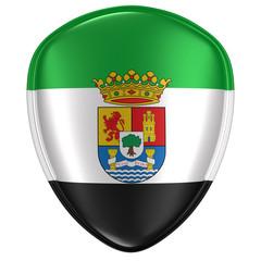 Extremadura flag icon