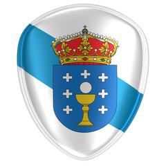Galicia flag icon
