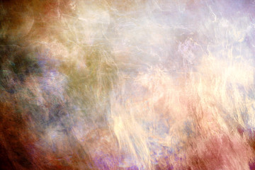 Abstract Artistic Colorful Foggy Galactic Texture As A Background